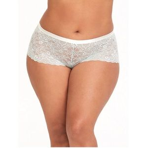 NWT Torrid Light Sea Lace Cheeky Panty Size 4X